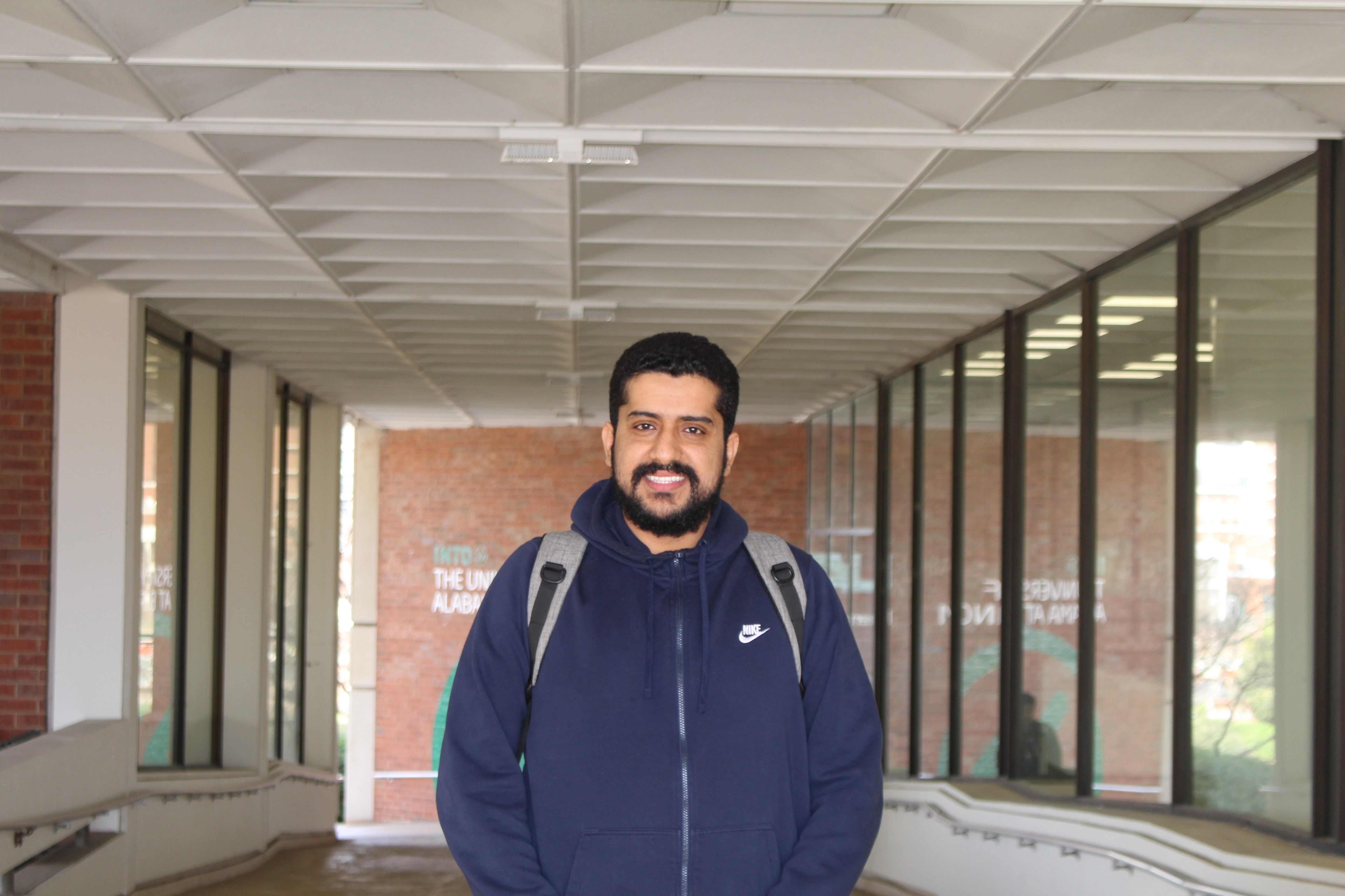 Khalid is an Academic English student at UAB