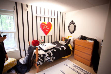 Residence hall for accommodation at Drew University