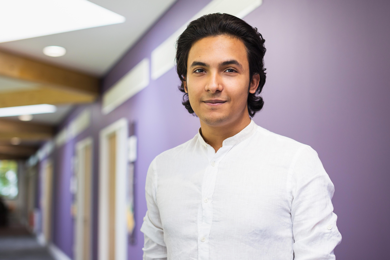 INTO Stirling student Assaf
