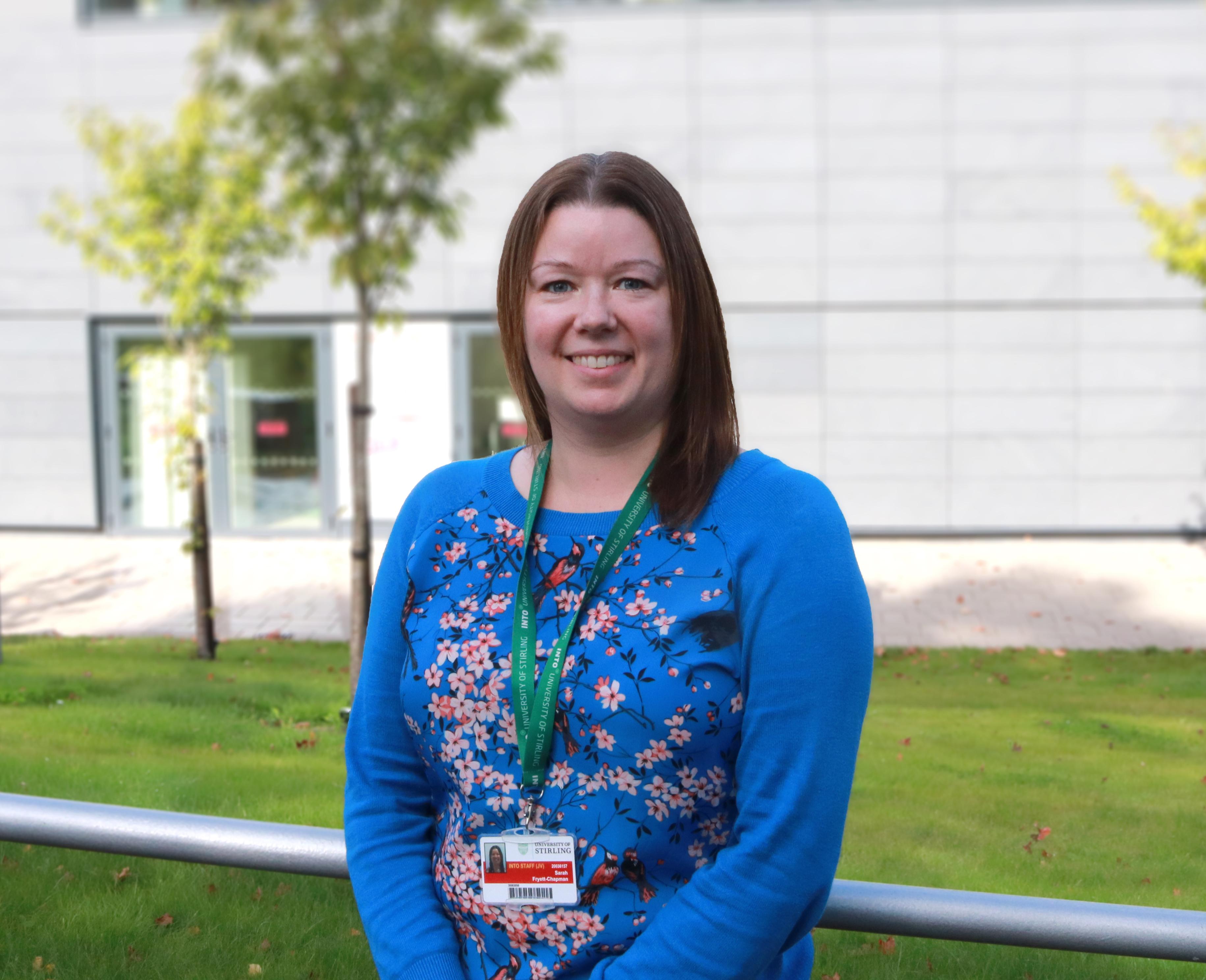 Image of INTO Stirling teacher, Sarah