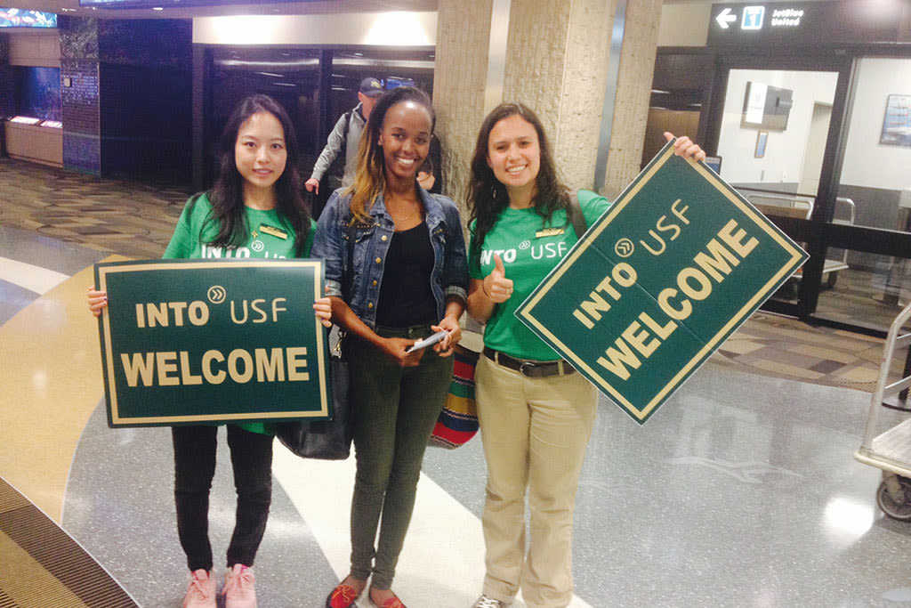 INTO USF Welcome
