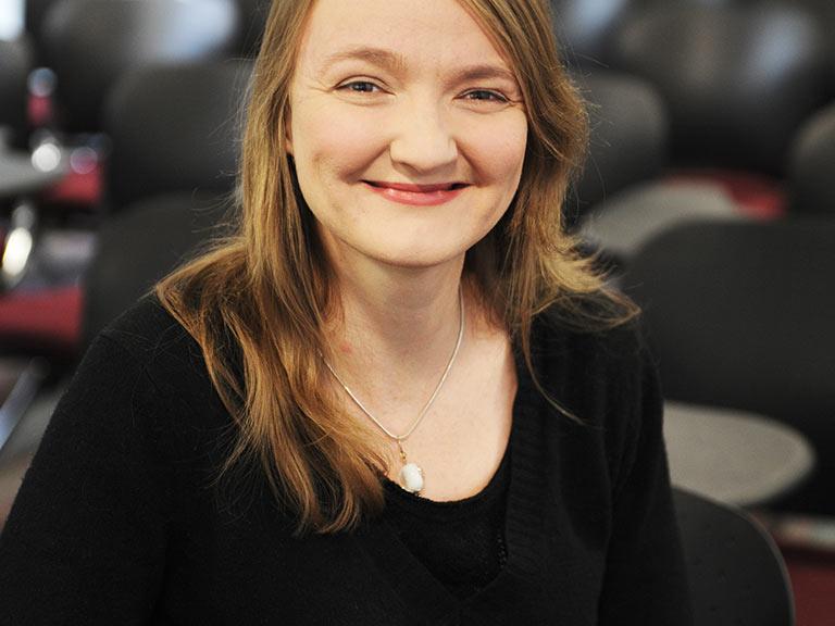 Image of INTO London teacher, Shirley