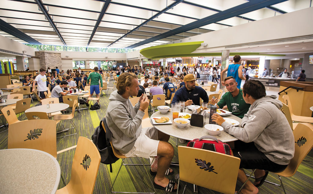 Choose from a variety of dining options on campus