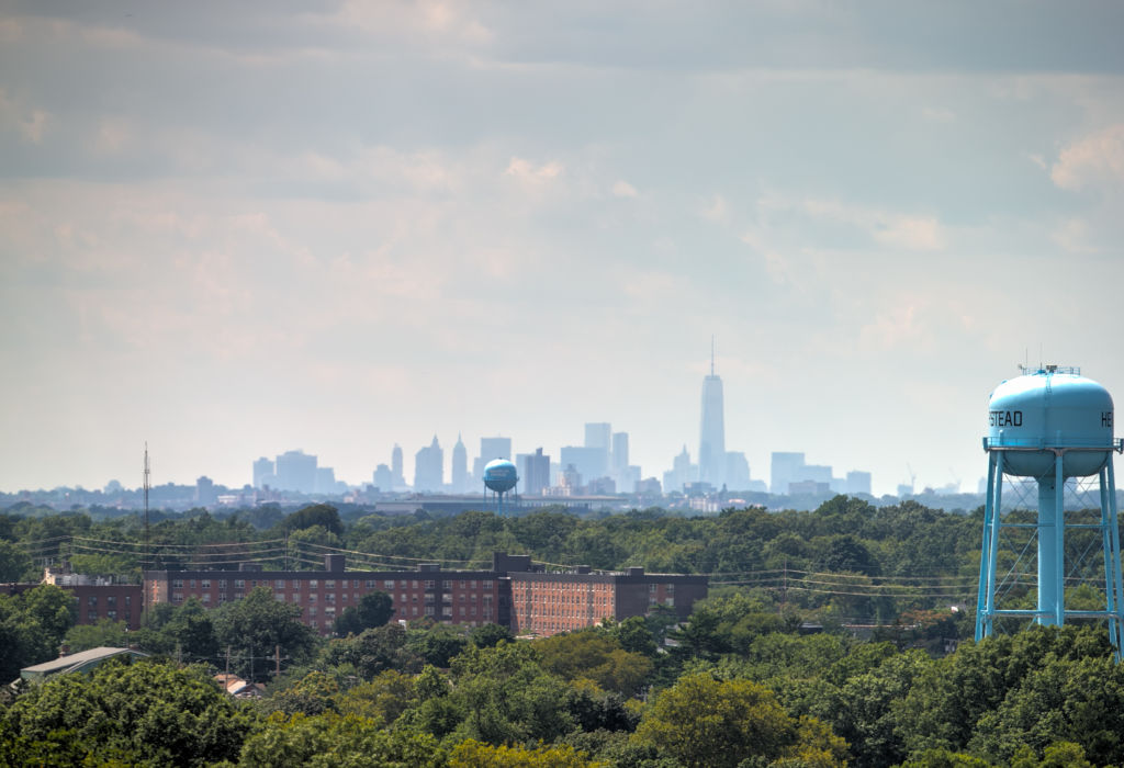 Enjoy the view of New York City from Hofstra's campus