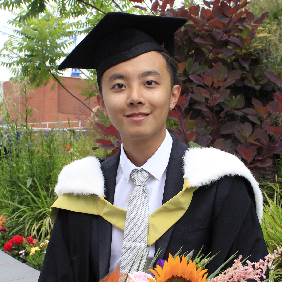 Photo of international student Chit Yat at INTO Manchester