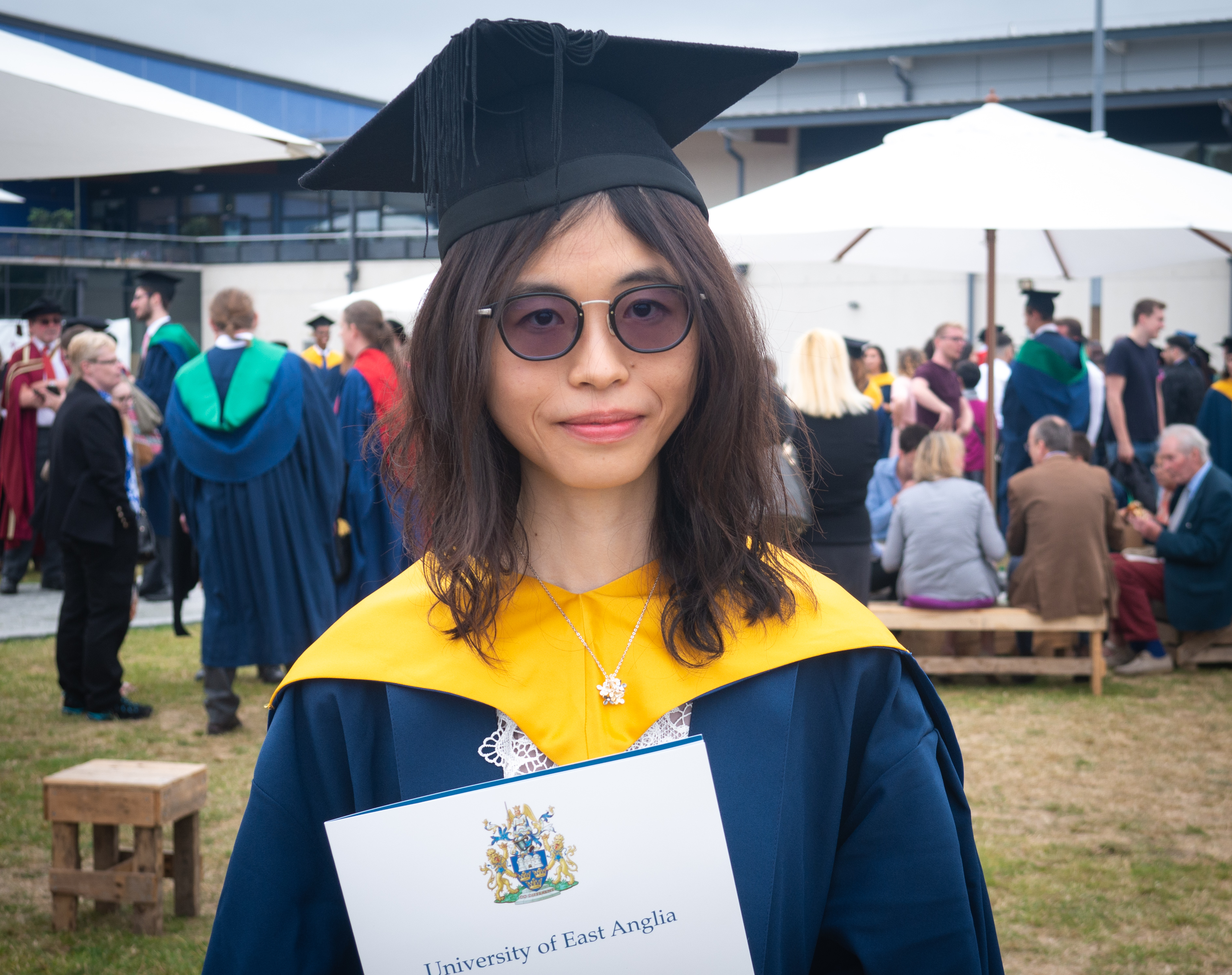 INTO UEA student Winnie, from Hong Kong
