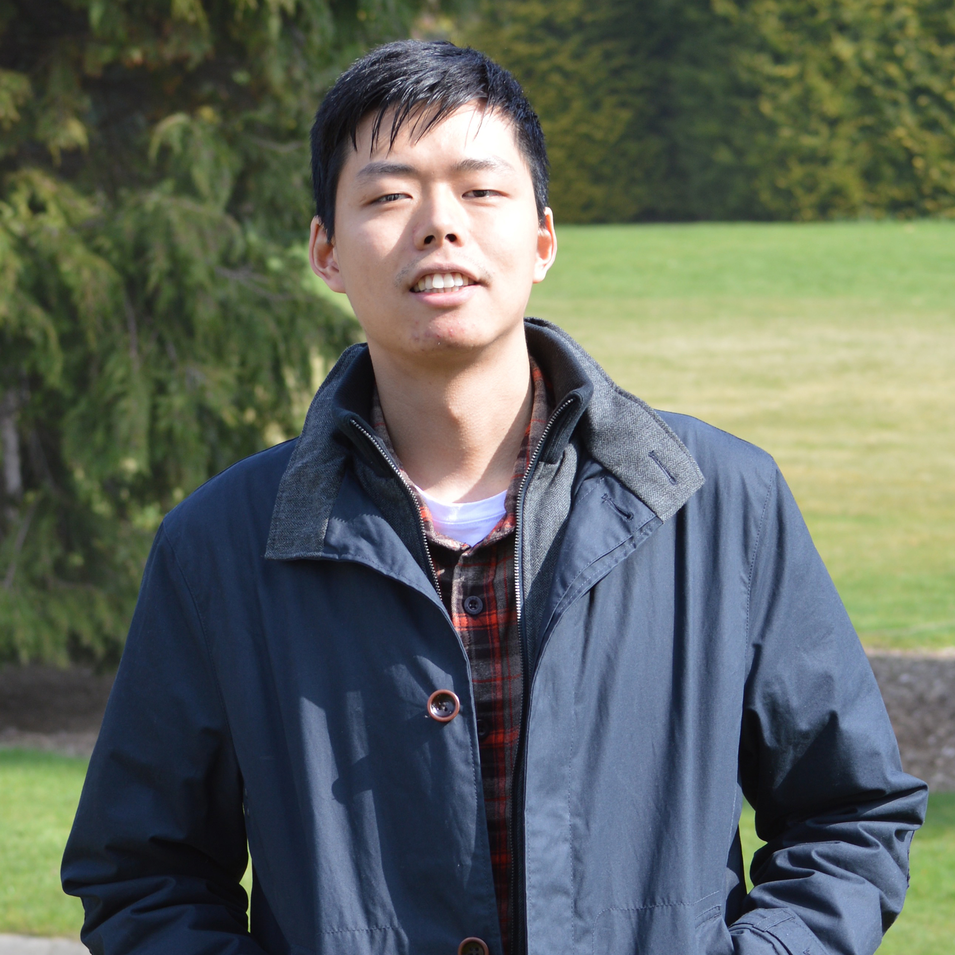 Photo of international student Kai at INTO University of Stirling