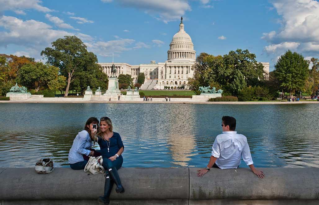 来美国首都华盛顿附近上乔治梅森大学
