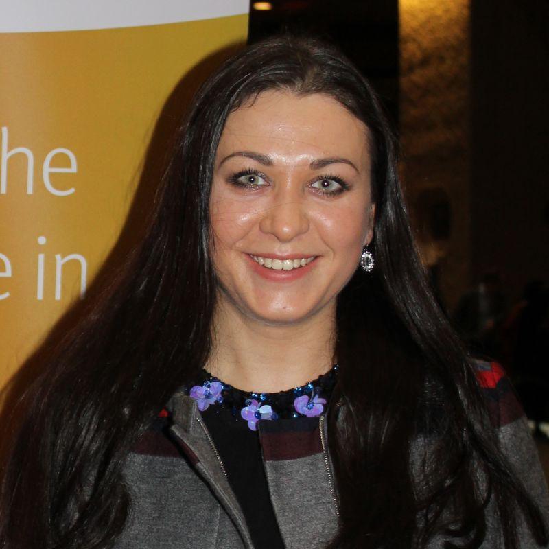 Photo of international student Daria at INTO City, University of London