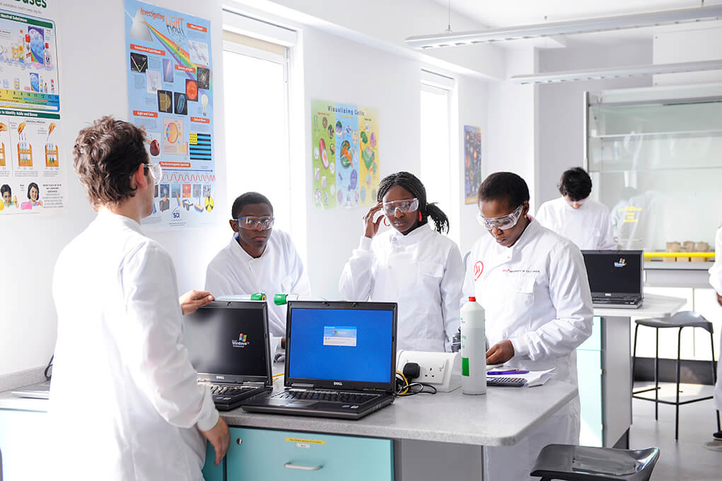 The INTO Centre has the same high quality equipment in its science labs as UEA