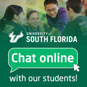 Got questions about USF? Live chat with students today!
