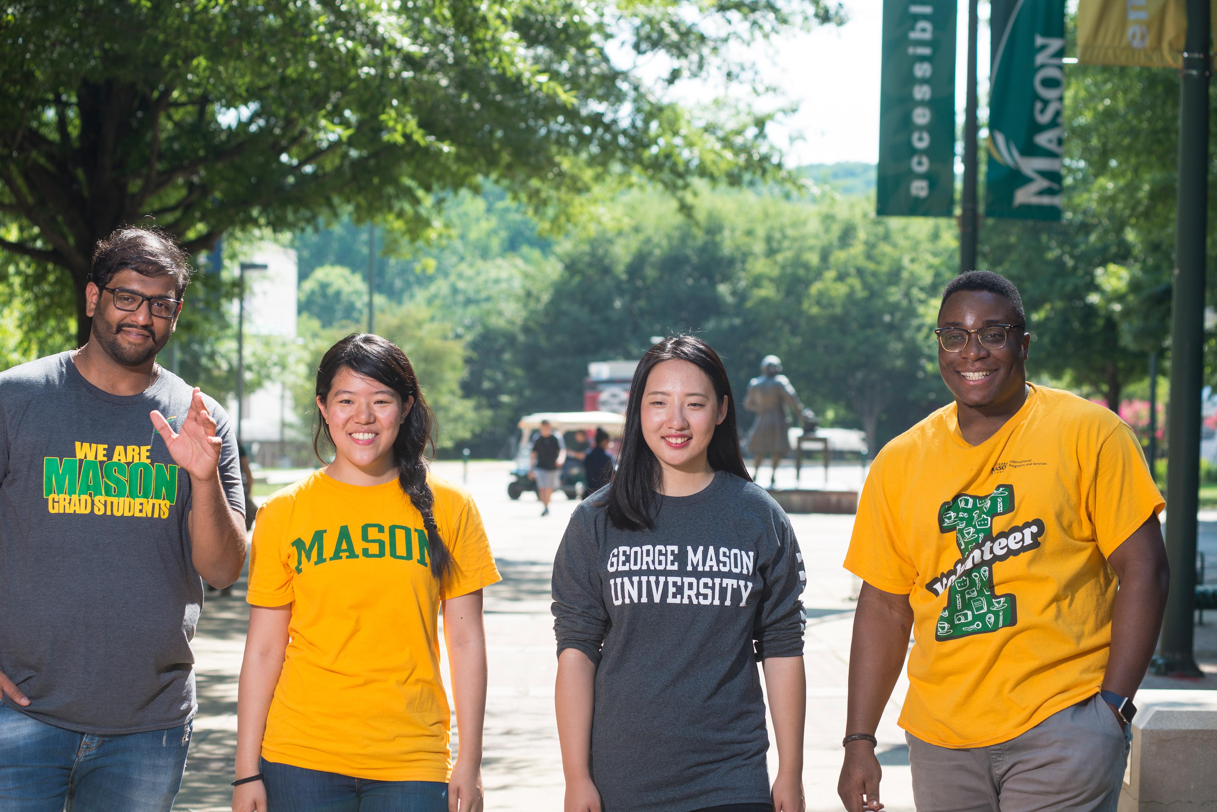 GMU Students walking group