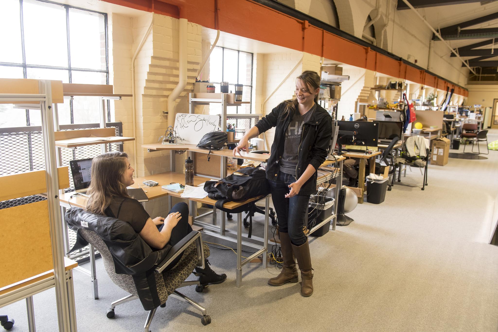 OSU Students in OSU research facilities