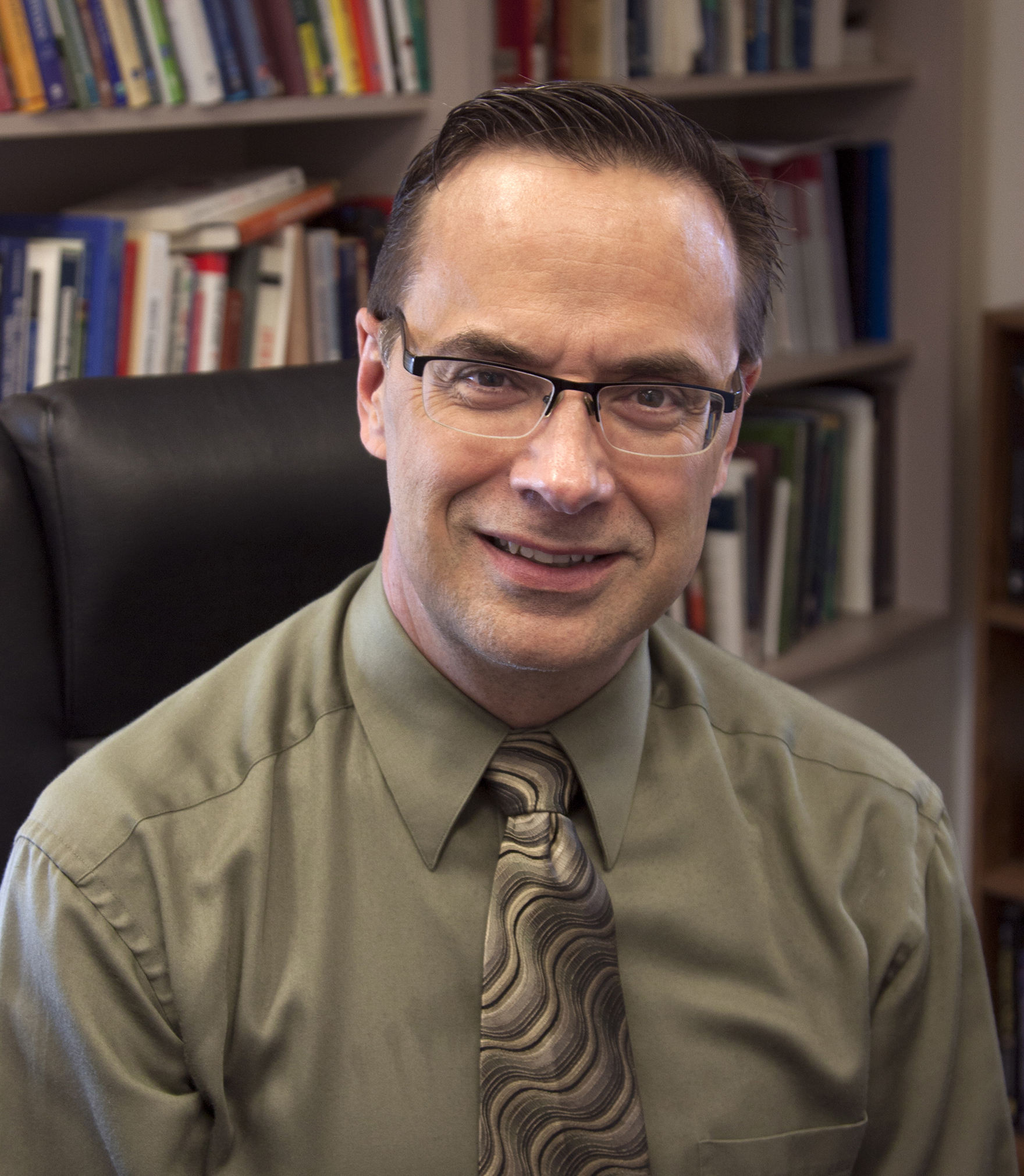 John R. Baldwin, PhD, Professor in the School of Communication, at Illinois State