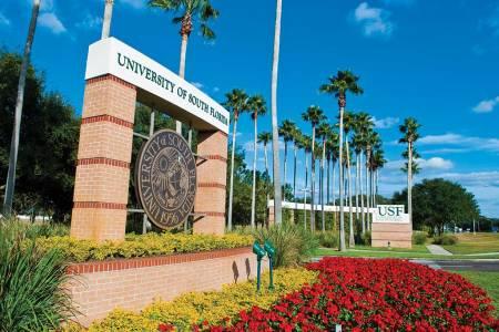 南佛罗里达大学校园标志