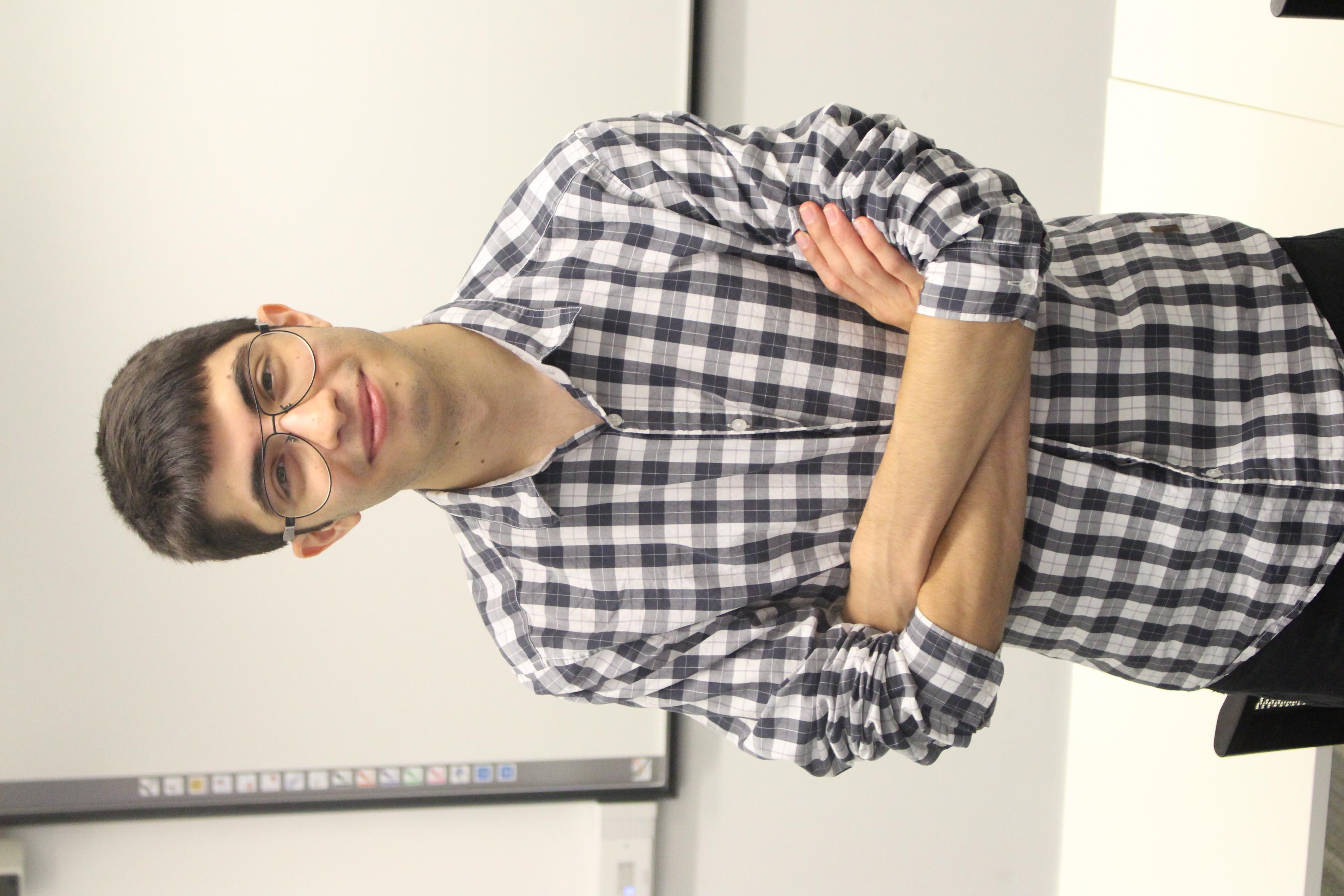 Photo of international student Eduardo at INTO London