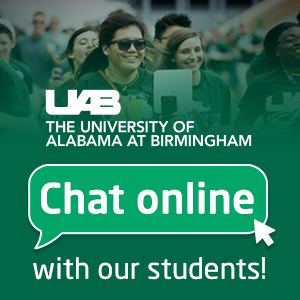 Got a question about UAB? Live chat with students today!
