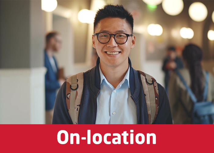 Study on-location with INTO