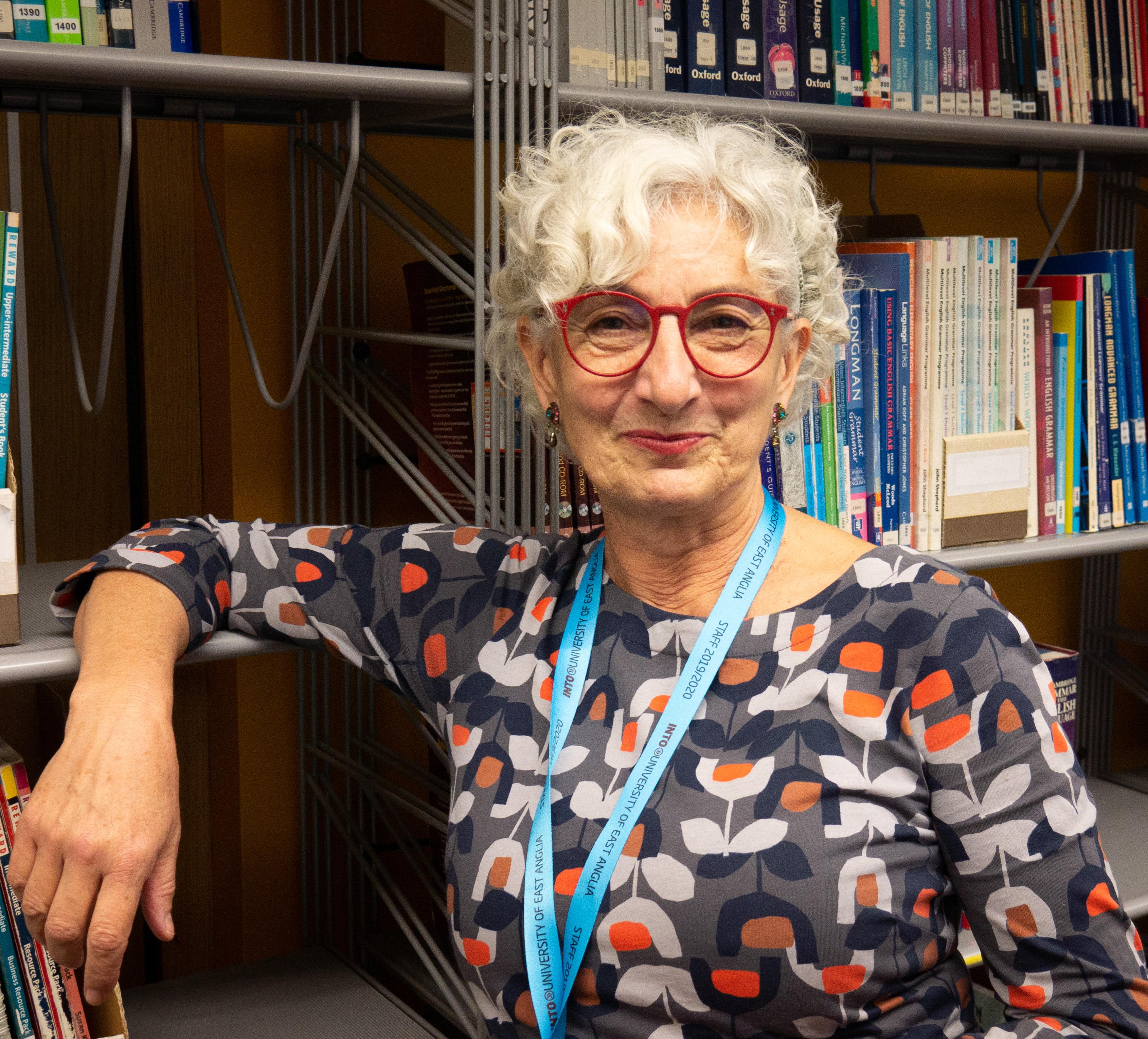 Image of INTO UEA teacher, Diane