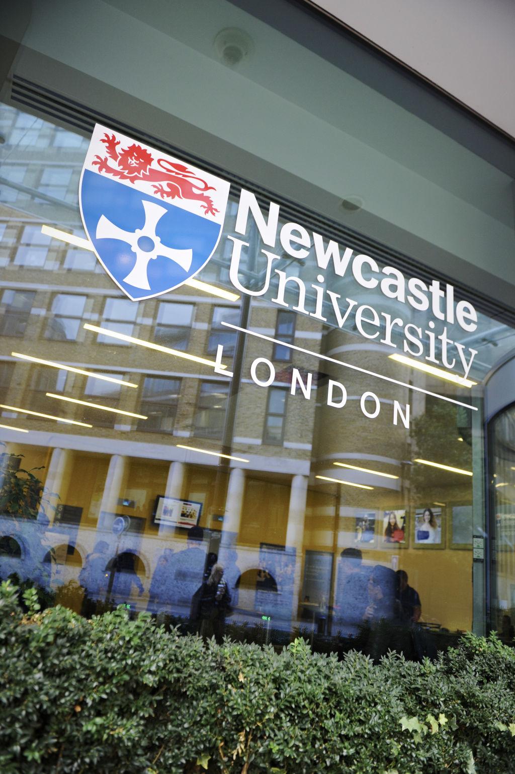 Newcastle University London entrance