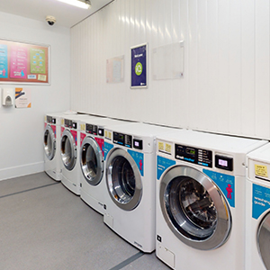 Magenta House laundry