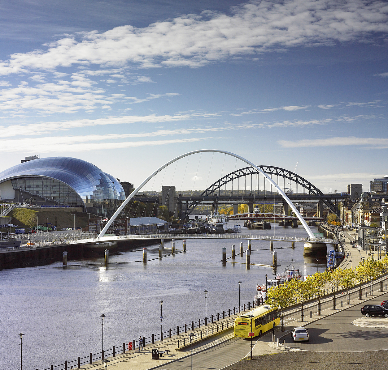 View of Newcastle Quayside