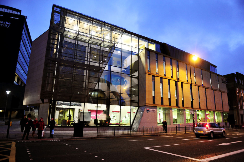 External view of the INTO Centre in Newcastle