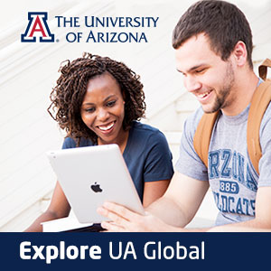 University of Arizona Global Online explore CTA