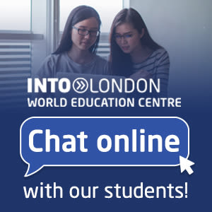 INTO London, World Education Centre. Chat online with our students!