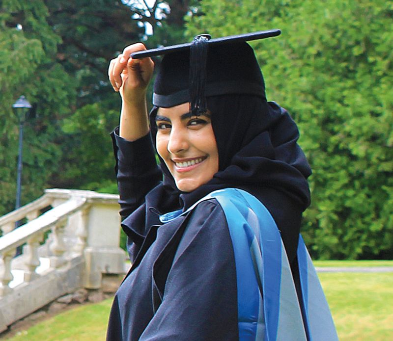 INTO Exeter student Deema