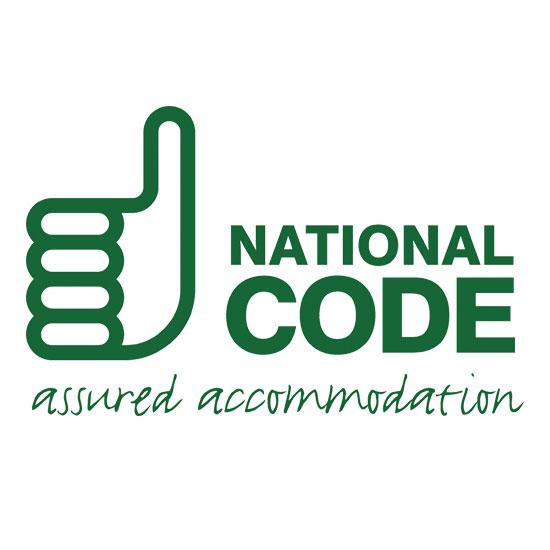 ANUK/Unipol National Code logo - assured accommodation