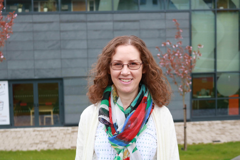 Image of INTO Stirling teacher, Gillian