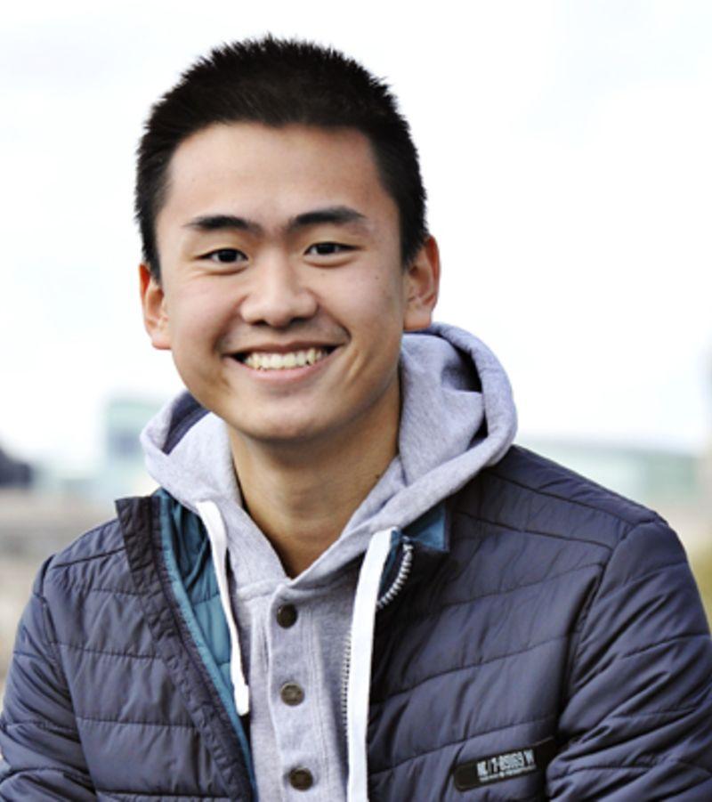Photo of international student Manh at INTO London