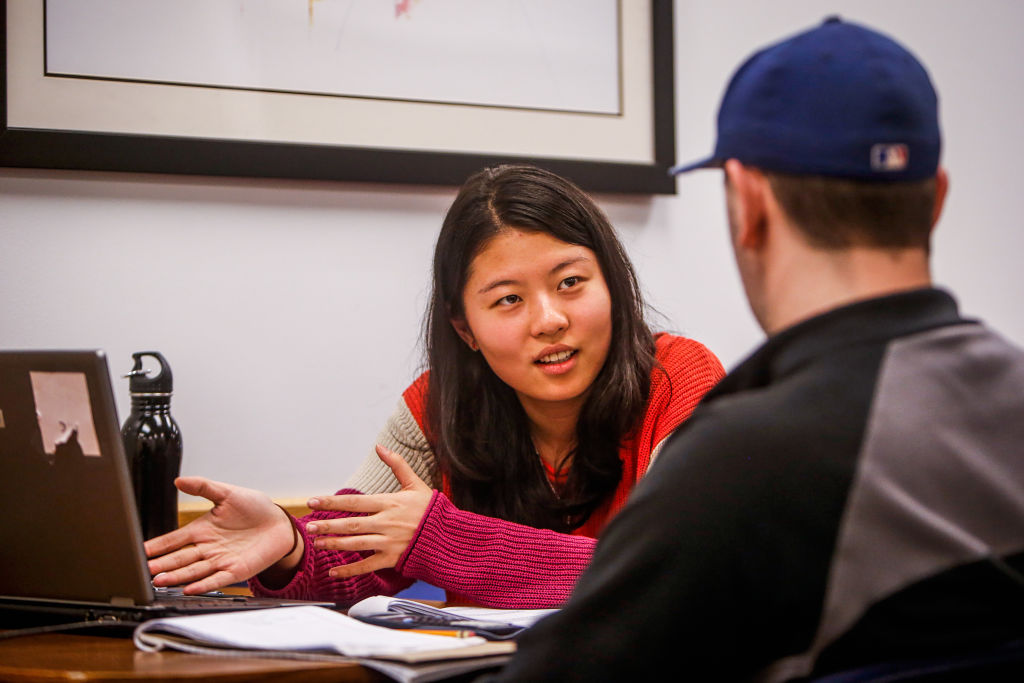 The INTO Learning Center offers social and academic support services