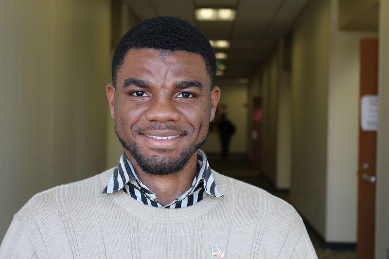 Gabriel Okafor student testimonial at INTO UAB