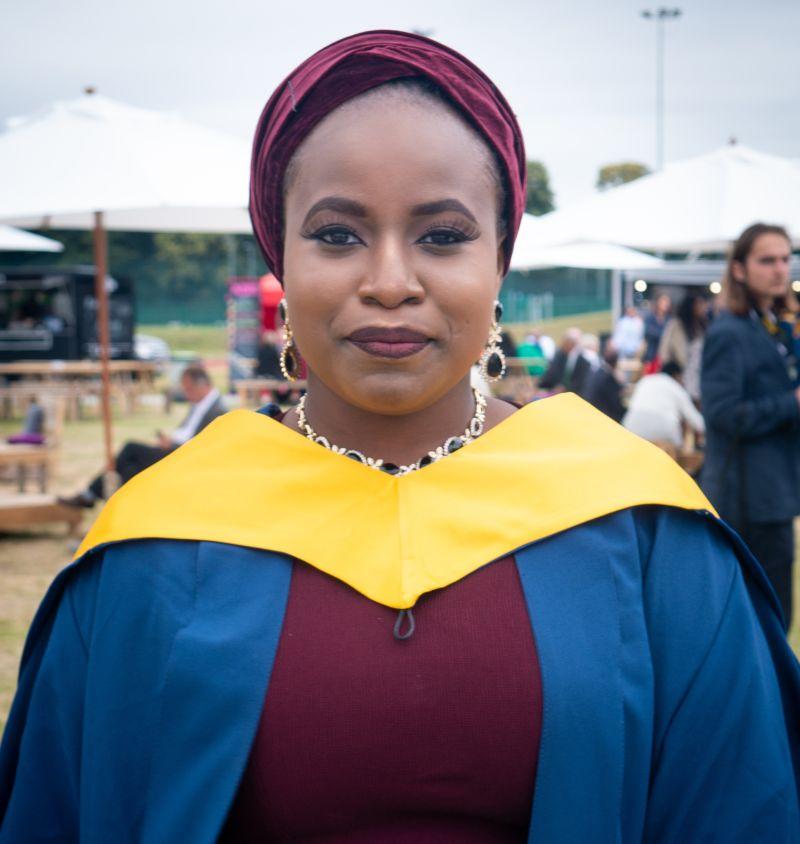 INTO UEA student Mariam, from Nigeria