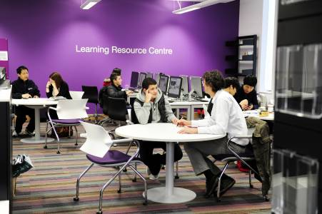 Learning Resource Centre in INTO Centre