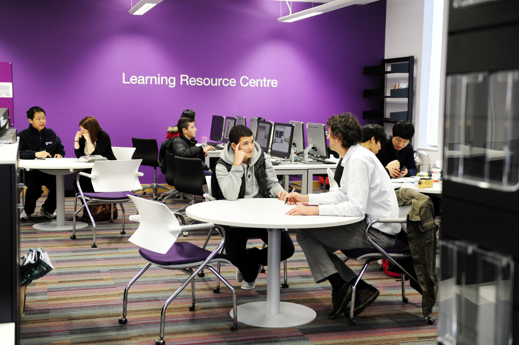 Learning Resource Centre in the INTO Centre
