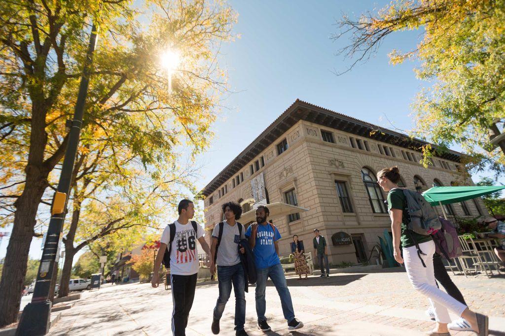 CSU Students at Downtown Colorado