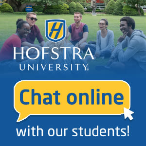 Chat with Hofstra students