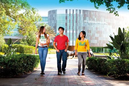 Marshall Student Center on campus at University of South Florida