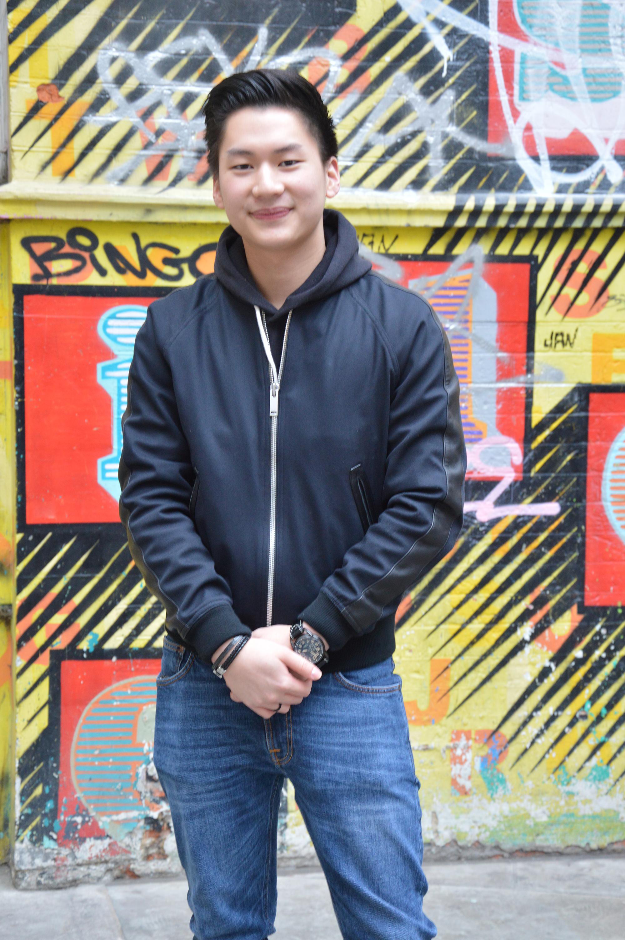 Photo of international student Chayapol at INTO London