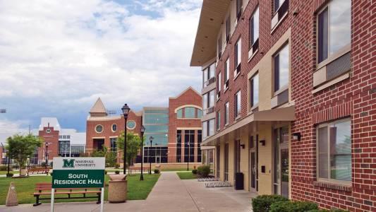 Marshall University Residence Hall Header