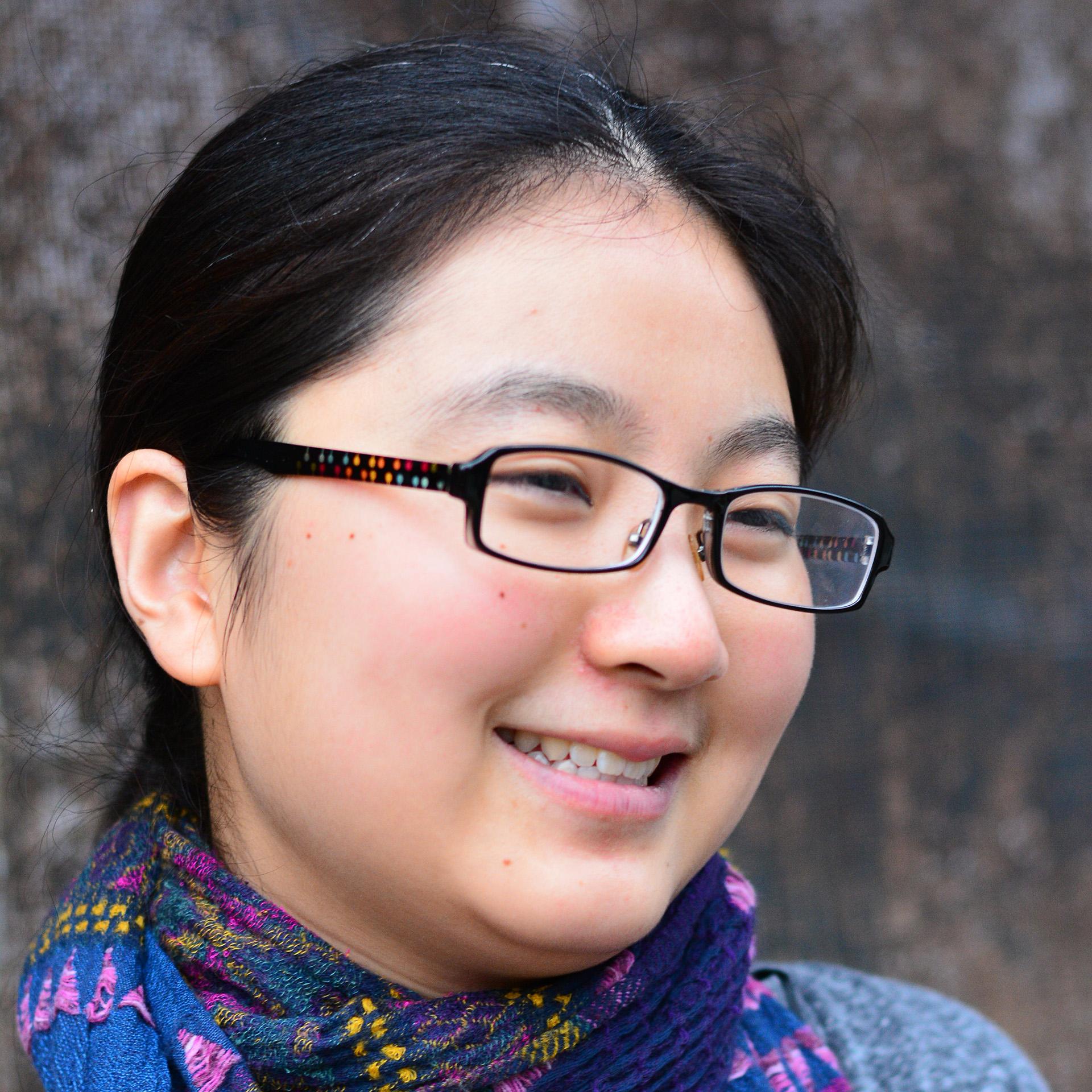 Photo of international student Qiaoling at INTO Newcastle University