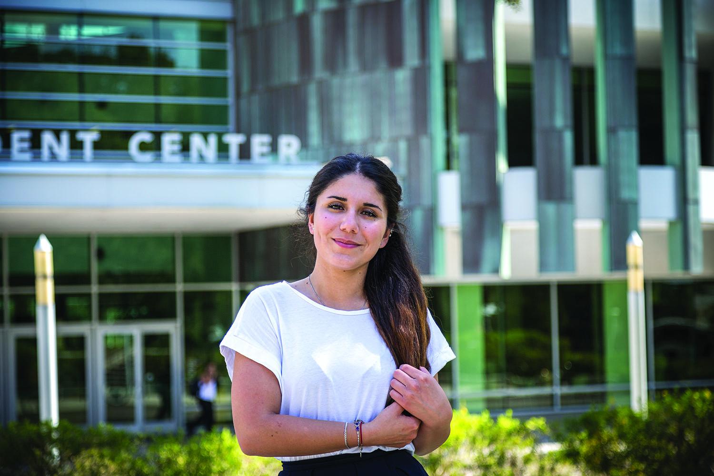 Vafa Guseinova student testimonial from INTO USF