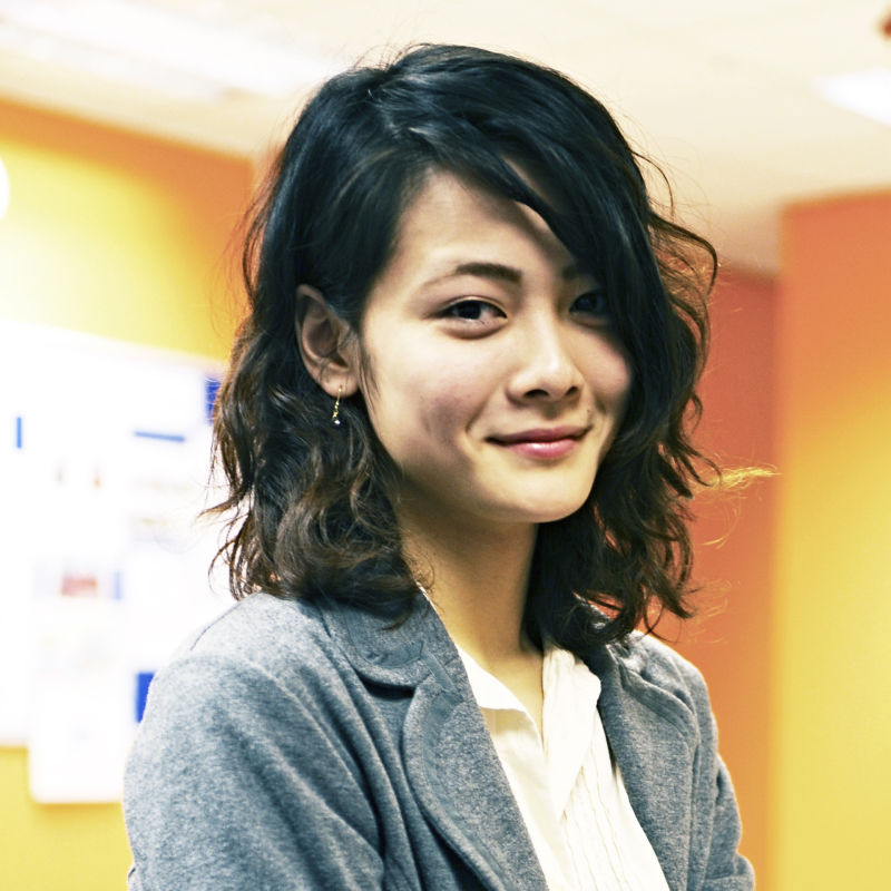 Photo of international student Manami at INTO Manchester