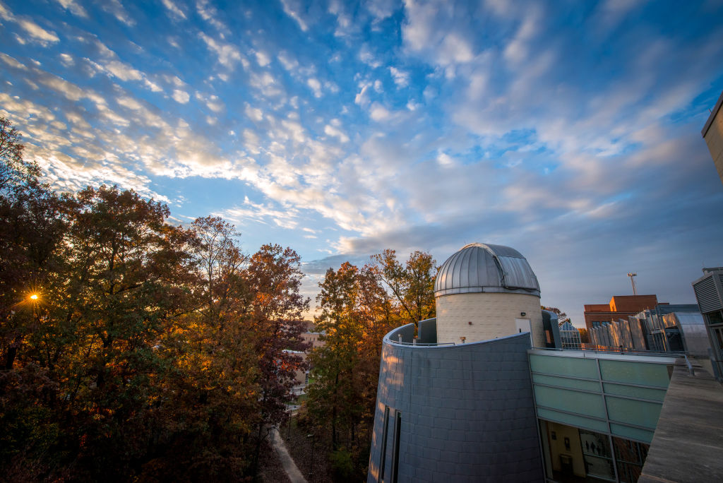 Mason is home to one of the largest observatories on the East Coast