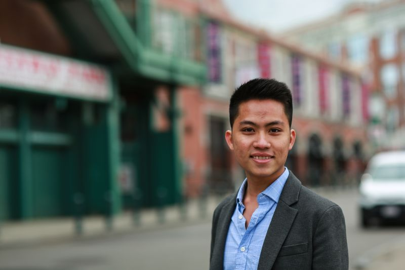 "Thinh ""Tyler"" La student testimonial at INTO Suffolk University"