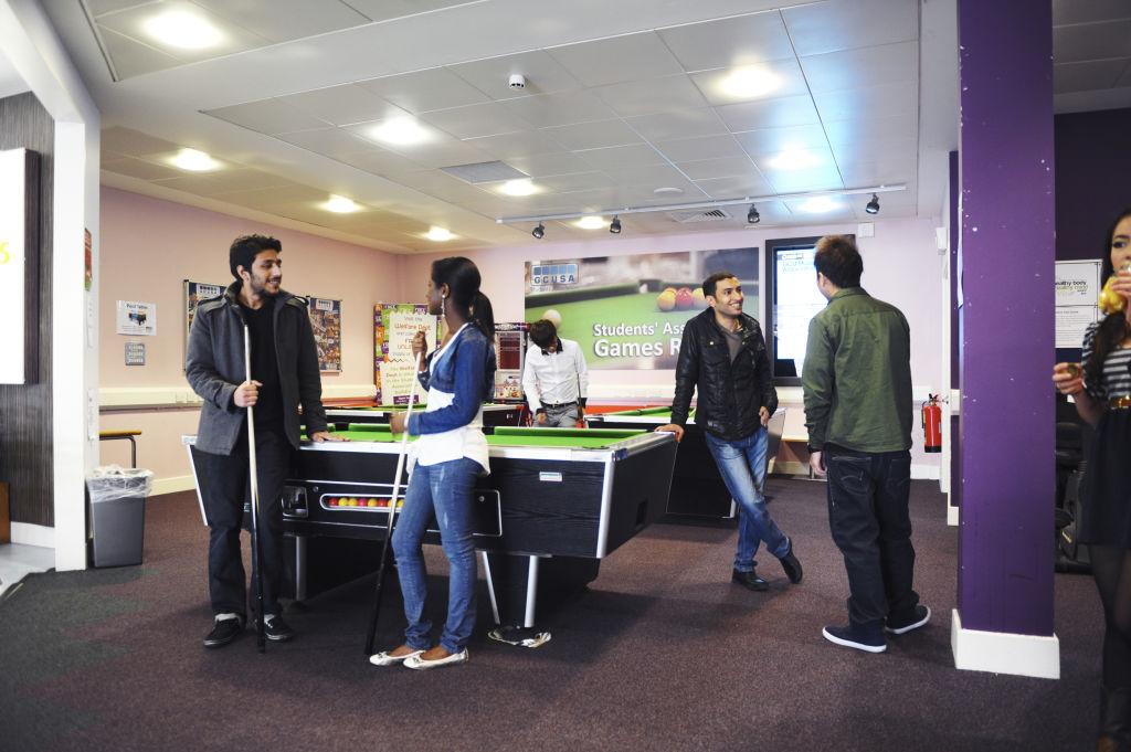 GCU Students' Association games area