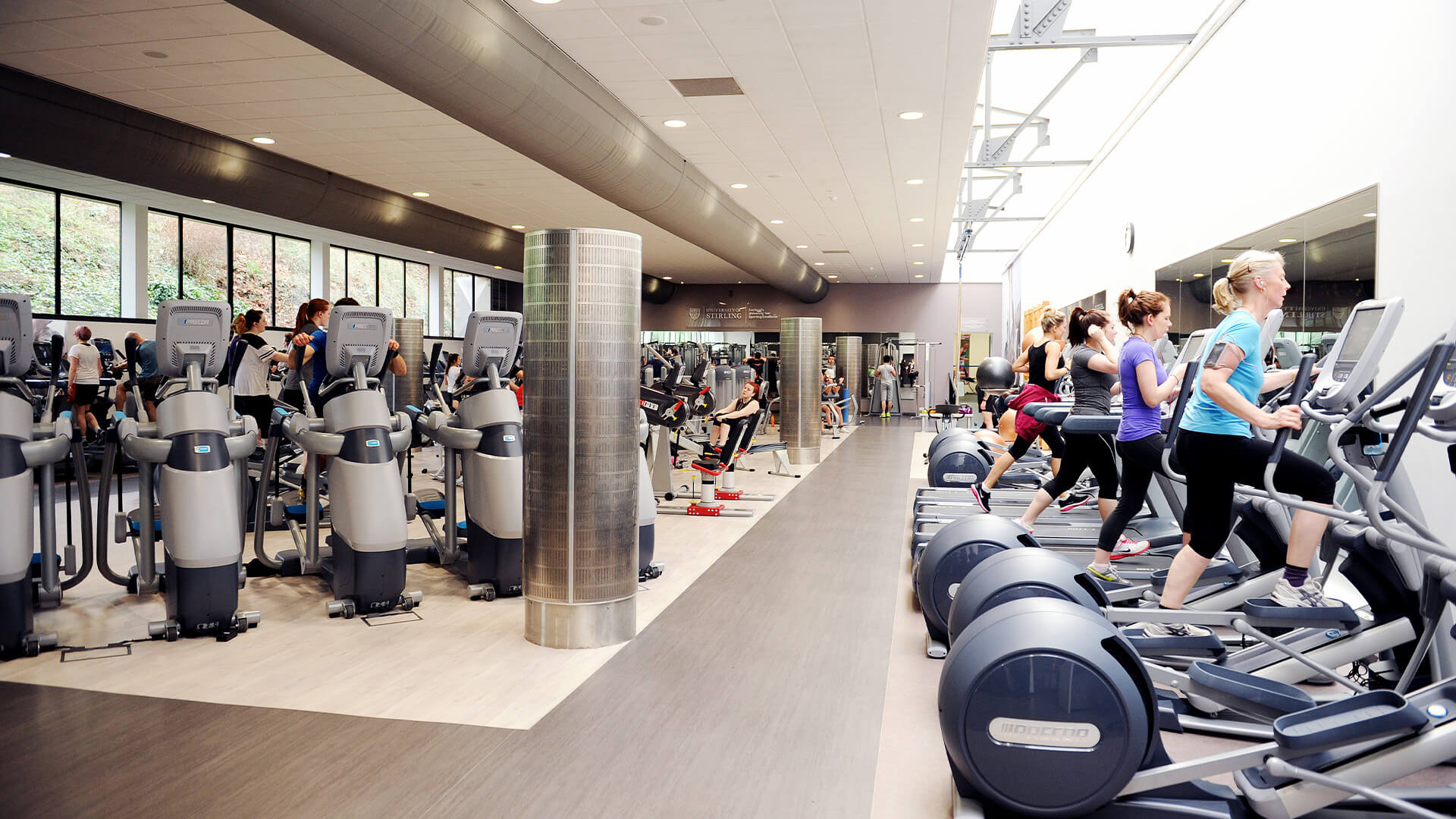 World-class sport and on-campus gym facilities at the University of Stirling